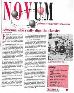 Novum Winter 1995